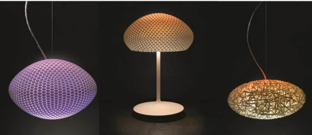 3D printing luminaires