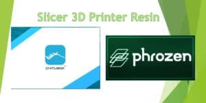 slicer 3d printing resin