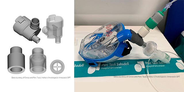 Cressi® CPAP Mask Connector
