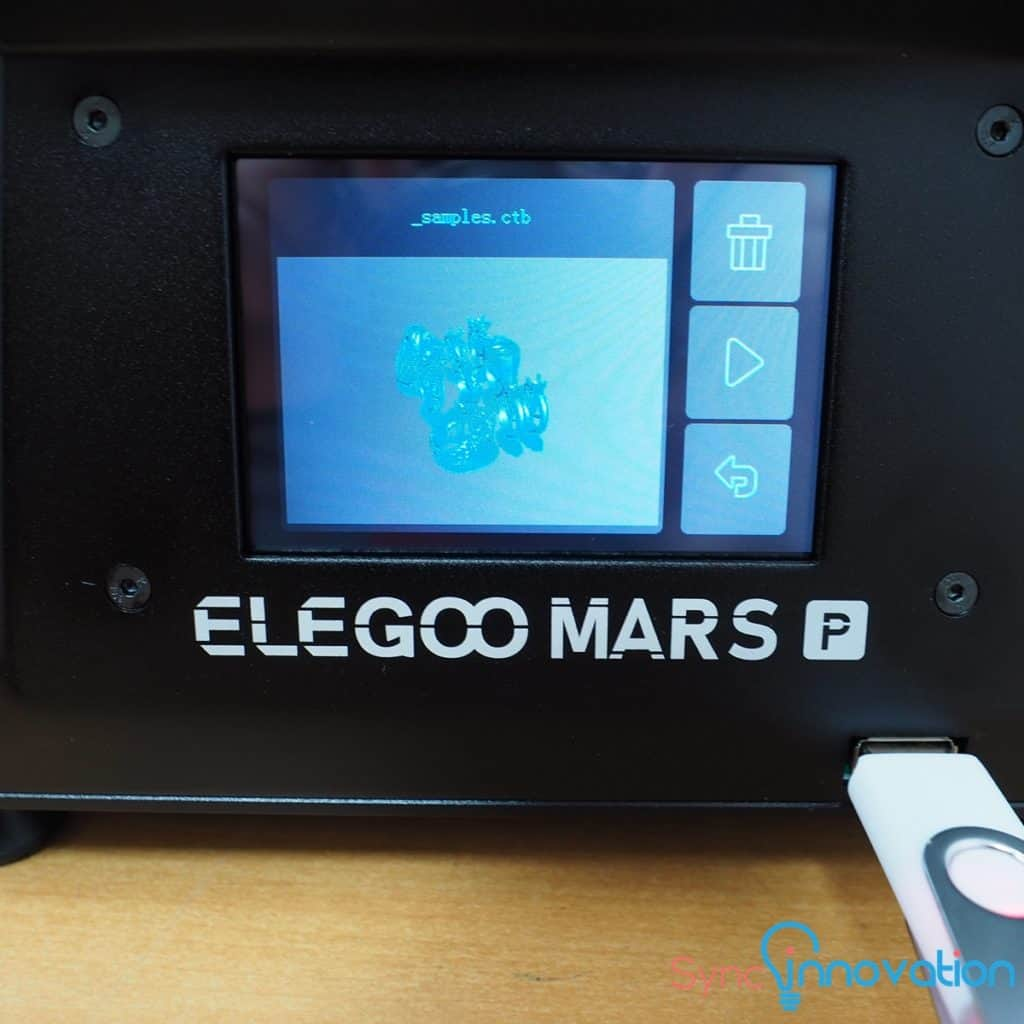 Manual การใช้งานเครื่อง ELEGOO MARS PRO