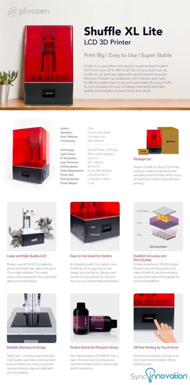 3d printer Shuffle XL-Lite