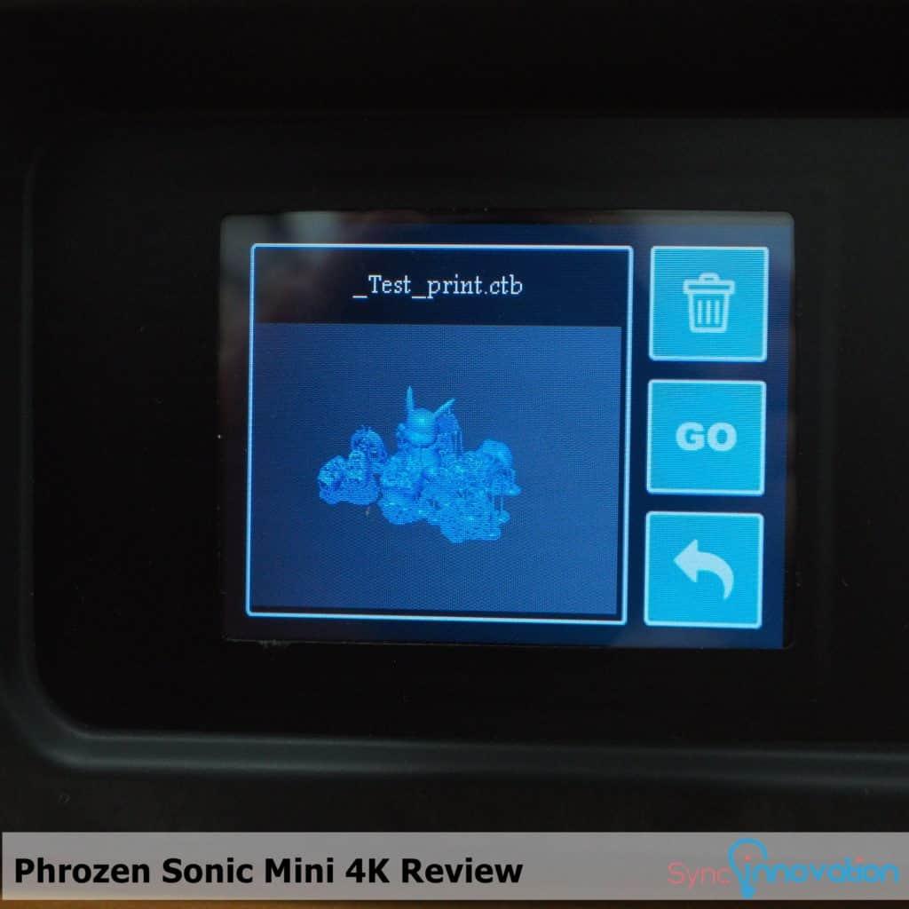 Manual การใช้งานเครื่อง Phrozen Sonic Mini 4K