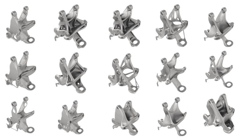 ตัวอย่างงาน Generative Design ในอุตสาหกรรม