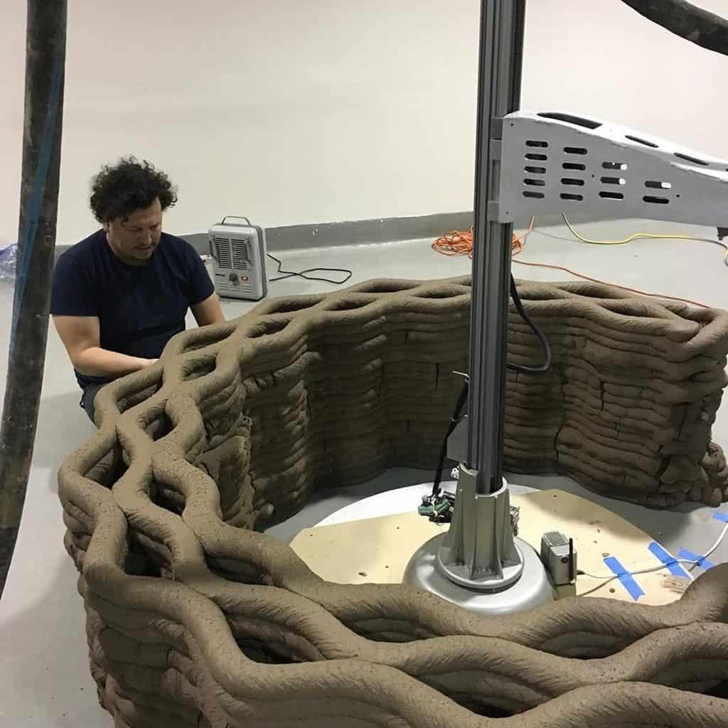 3D Printer ceramic and paste