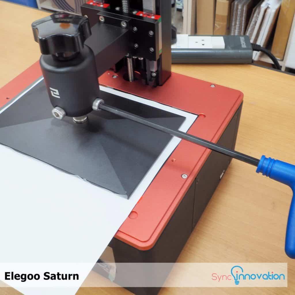 Manual การใช้งานเครื่อง Elegoo Saturn