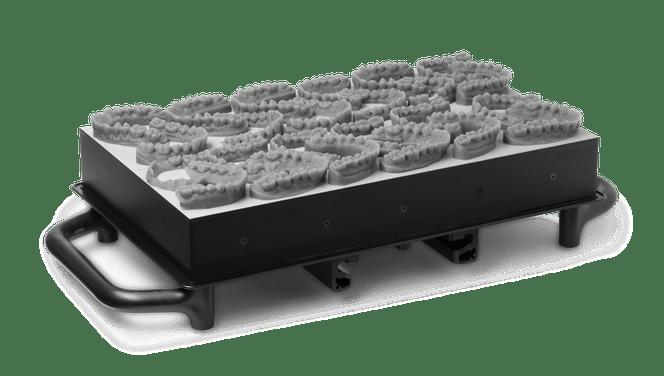 high-production dental 3D printing