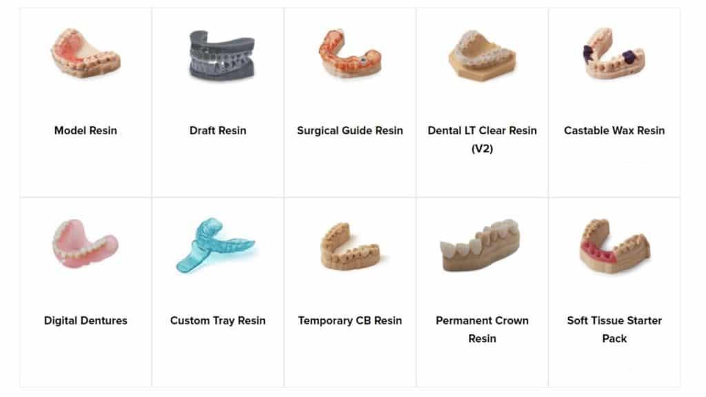 Formlabs Materials มีกี่ชนิด เลือกใช้ยังไง