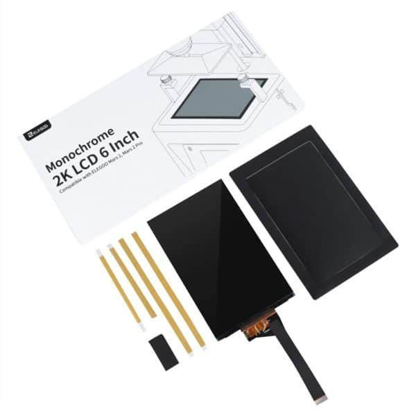 LCD Mono 2K 6.1 inch for Elegoo Mars 2 Pro