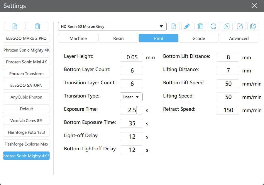 Manual การใช้งานเครื่อง Phrozen Sonic Mighty 4K